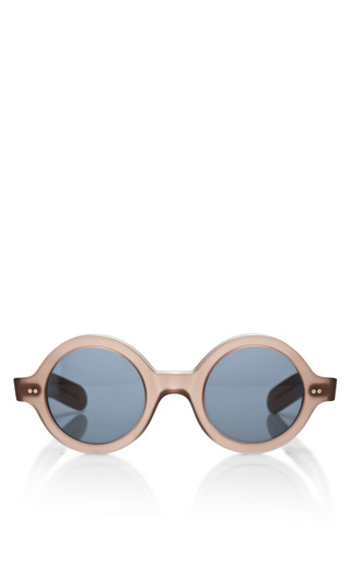 Medium cutler and gross brown round frame acetate sunglasses