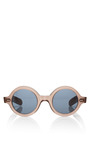 Round Frame Acetate Sunglasses by CUTLER AND GROSS Now Available on Moda Operandi