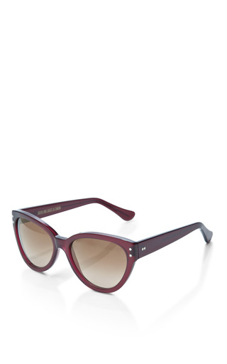 Cat Eye Acetate Sunglasses by CUTLER AND GROSS Now Available on Moda Operandi