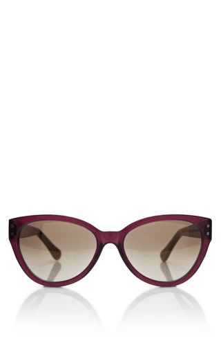 Medium cutler and gross burgundy cat eye acetate sunglasses 2