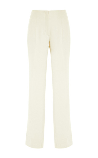 Medium giambattista valli white white satin pant