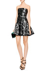 Leopard Jacquard Mini Dress by GIAMBATTISTA VALLI Now Available on Moda Operandi