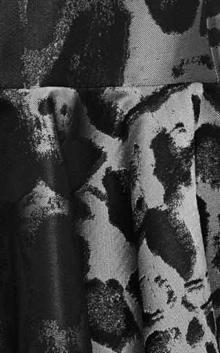 Leopard Jacquard Mini Dress by GIAMBATTISTA VALLI Now Available on Moda Operandi
