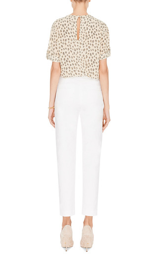 Stretch Cotton Pants by HARVEY FAIRCLOTH Now Available on Moda Operandi