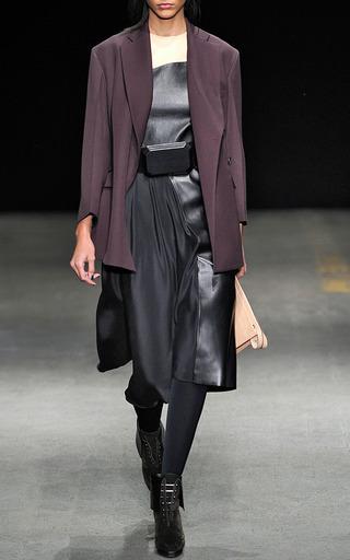 Medium 3 1 phillip lim burgundy asymmetrical blazer