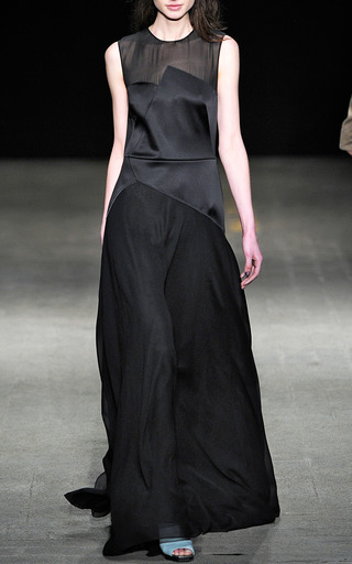 Luna Dress With Chiffon Yoke And Skirt by 3.1 PHILLIP LIM for Preorder on Moda Operandi