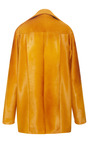 Curry Haircalf Barn Coat by DEREK LAM for Preorder on Moda Operandi