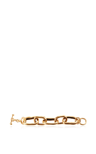 Russian Link Gold Bracelet by OSCAR DE LA RENTA Now Available on Moda Operandi