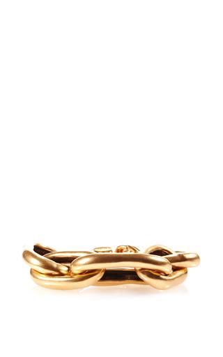 Russian Link Gold Bracelet by OSCAR DE LA RENTA Now Available on Moda Operandi