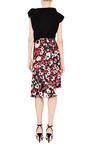 Floral Print Asymmetric Hem Skirt by MARNI Now Available on Moda Operandi