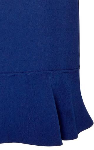 Contrast Collar Crepe Dress by MARNI Now Available on Moda Operandi