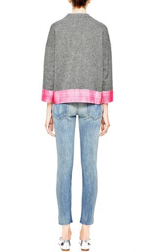 Contrast Hem Cashmere Blend Sweater by MARNI Now Available on Moda Operandi