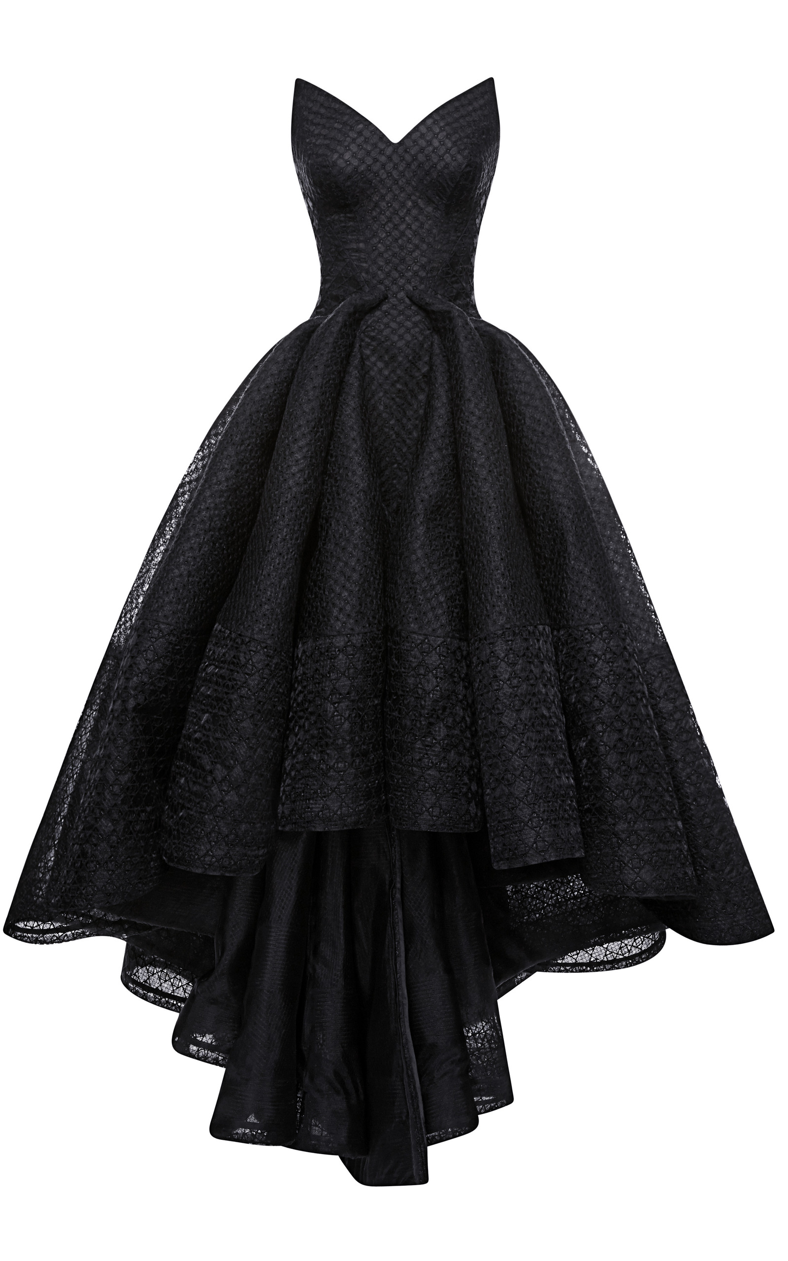 d80ac226c81 Embroidered Organza Gown by Zac Posen