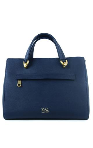 Eartha Barrel Satchel In Chateau by ZAC ZAC POSEN for Preorder on Moda Operandi