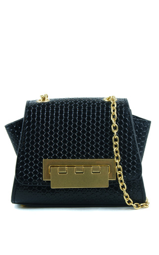 Medium zac zac posen black eartha mini crossbody in black