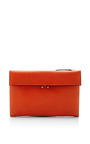 Textured Leather Shoulder Bag by MARNI Now Available on Moda Operandi