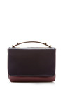 Two Tone Leather Shoulder Bag by MARNI Now Available on Moda Operandi