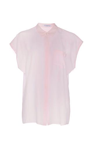 Medium equipment purple jensen washed silk shirt