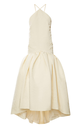 Medium rosie assoulin ivory brush gown