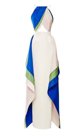 Medium rosie assoulin white tulip gown