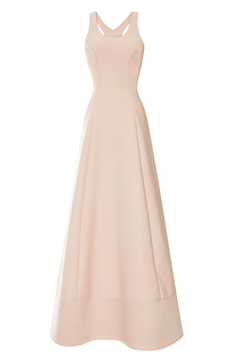 Medium rosie assoulin pink swimsuit gown