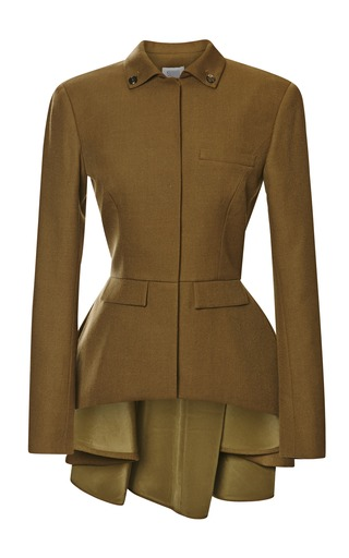 Medium rosie assoulin brown lofficier jacket