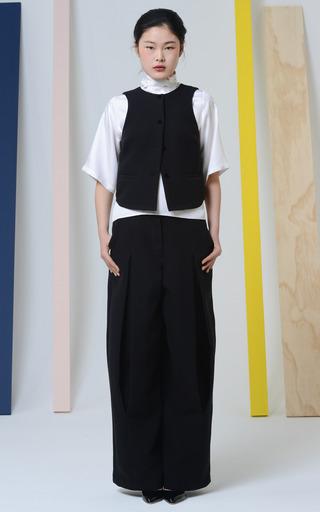 Silk Twill Ascot Tee by ROSIE ASSOULIN for Preorder on Moda Operandi