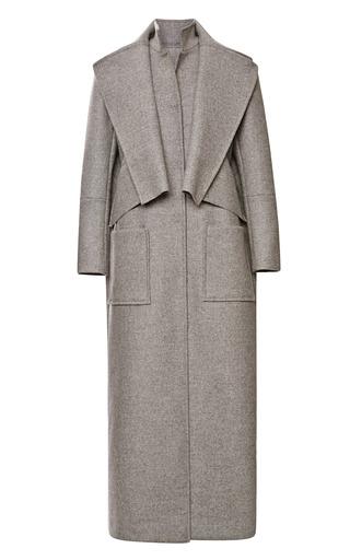 Medium rosie assoulin dark grey double dutch coat