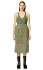 Dark Green Compact Mohair Tank by CALVIN KLEIN COLLECTION for Preorder on Moda Operandi