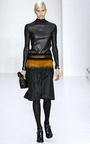 Needle Punched Gabardine Skirt by SALVATORE FERRAGAMO for Preorder on Moda Operandi