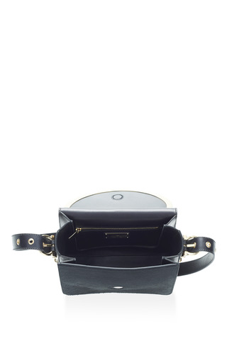Micole Black Pony Crossbody by SALVATORE FERRAGAMO for Preorder on Moda Operandi