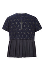 Pleated Hem Tee by SUNO for Preorder on Moda Operandi