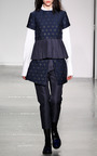 Pleated Hem Tee by SUNO for Preorder on Moda Operandi
