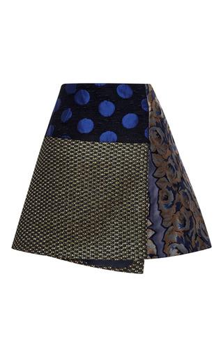 Asymmetrical Wrap Mini Skirt by SUNO for Preorder on Moda Operandi