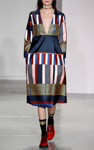 Faux Wrap Dress by SUNO for Preorder on Moda Operandi