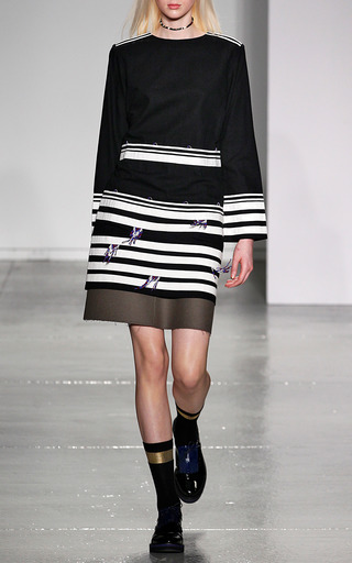 Long Sleeve Dress by SUNO for Preorder on Moda Operandi