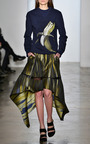 Banana Printed Painterly Sweater by OSTWALD HELGASON for Preorder on Moda Operandi