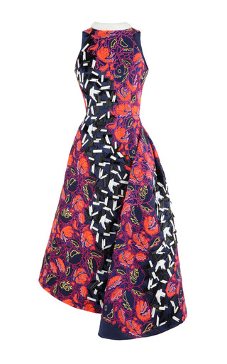 Medium peter pilotto red elin dress