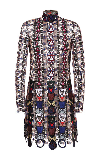 Medium mary katrantzou multi pincop lace dress