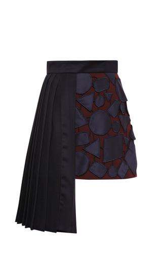 Medium mary katrantzou navy copperex all in one mini skirt