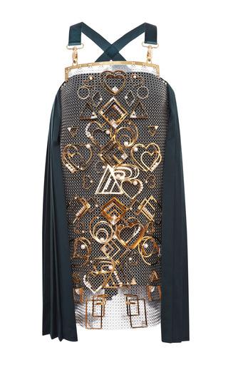 Medium mary katrantzou metallic apsugar dress