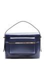 Mvk Oxford Blue Bag by MARY KATRANTZOU for Preorder on Moda Operandi