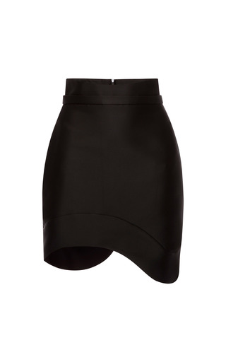 Silk Scuba Mini Skirt by ANTONIO BERARDI for Preorder on Moda Operandi