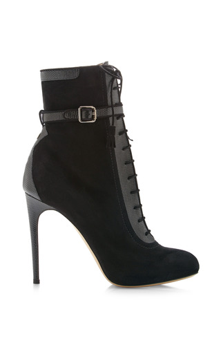 Medium paul andrew black malborough ankle boot