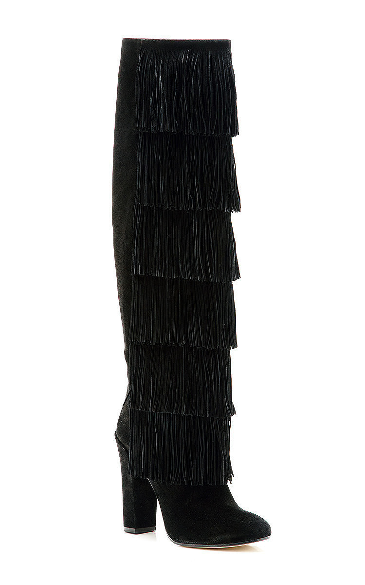 Paul Andrew Suede Fringe Booties clearance finishline outlet cheap authentic fashionable online wholesale online best store to get cheap online Nh5juqZ1