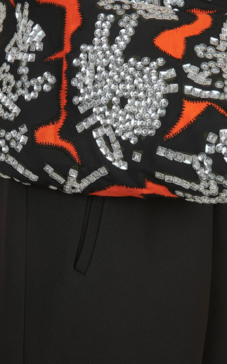 Monster Sequin Embroidery Jumpsuit by KENZO for Preorder on Moda Operandi