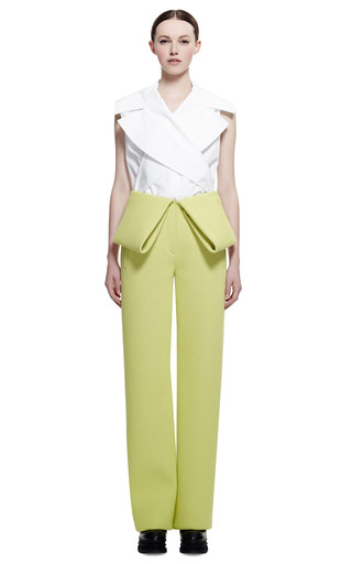 Double Face Jersey Crepe Pant by KENZO for Preorder on Moda Operandi