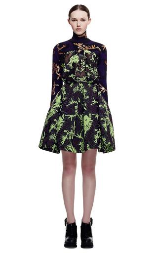 Weaving Jacquard Monster Dress by KENZO for Preorder on Moda Operandi