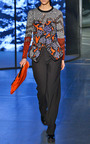 Embroidery On Wool Jacquard Broken Floor Sweater by KENZO for Preorder on Moda Operandi