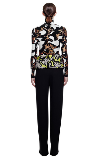 Monster Graphics On Wool Blend Turtleneck by KENZO for Preorder on Moda Operandi
